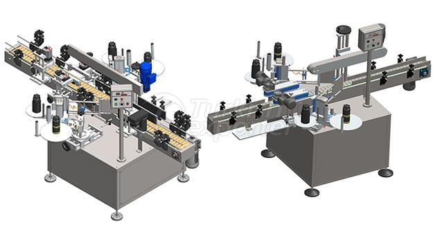 Fully Automatic Double Sided Labeling Machine