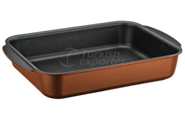 Square Copper Tray