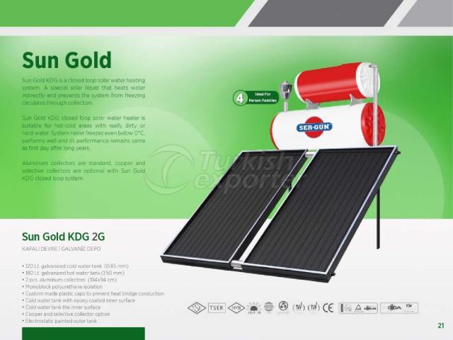 Energie solaire Sun Gold KDG 2G