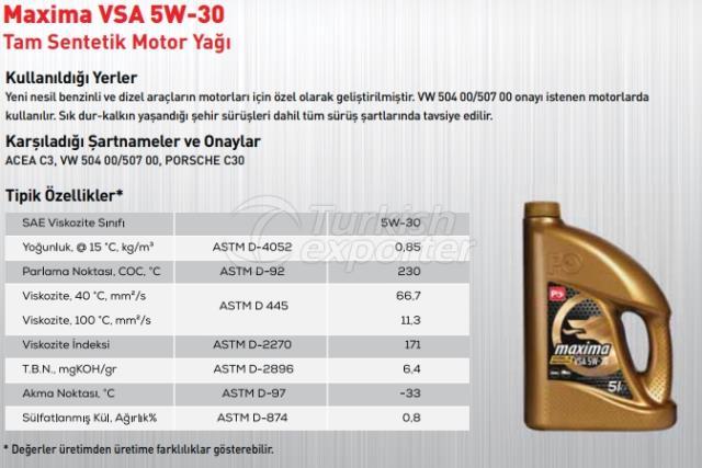 Maxima VSA 5W-30