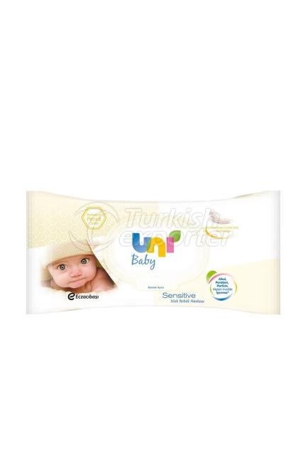 UNI Baby sensetive wet towel 56 pcs