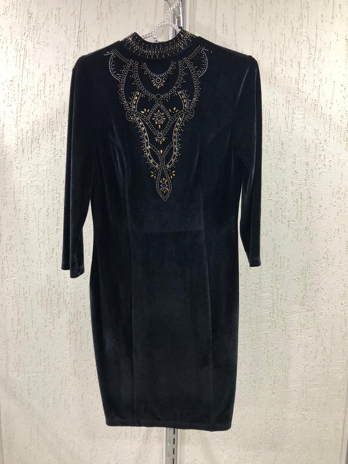 velvet stone dress