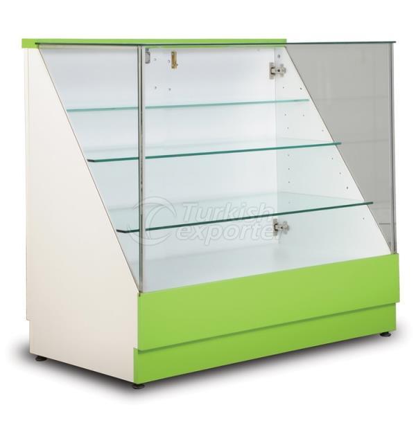 Cosmetics Display Glass Counter