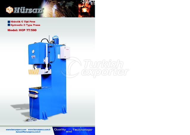 Hydraulic Special C Type Press