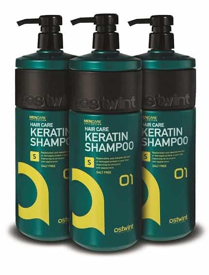 OSTWINT MENCARE KERATIN HAIR شامبو