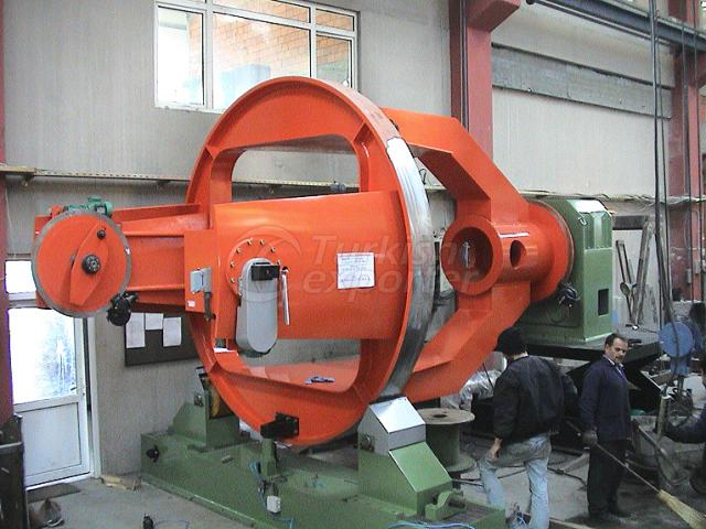 Cable Machinery Drum Twister