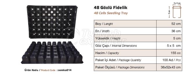 48 bacs de semis
