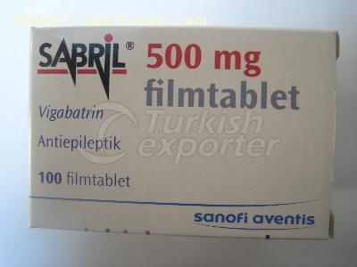 SABRIL 500 MG 100 TABLETS