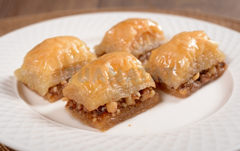 Traditional Desserts - Baklava With Walnut