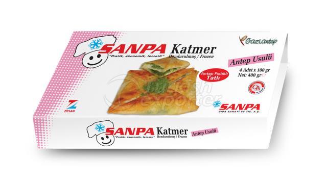 Sanpa Pistachio Crisp Flaky Pastry