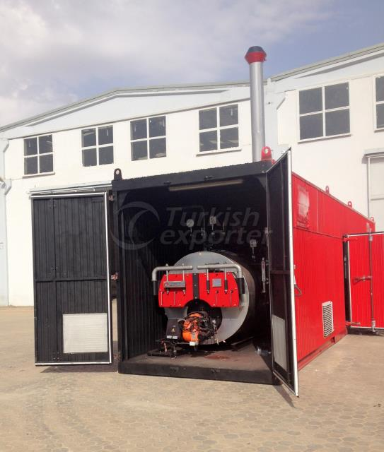 CONTAINER STEAM BOILER