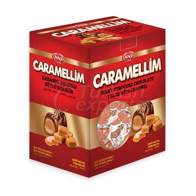Karamel Dolgulu Sütlü Çikolata