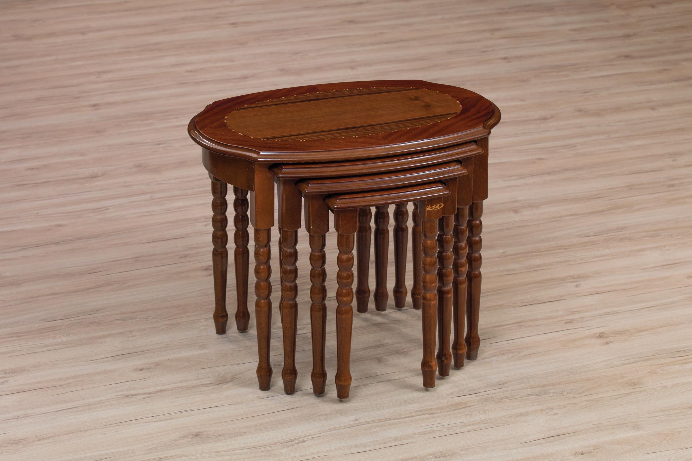 111 COFFE TABLE SET 4 PART