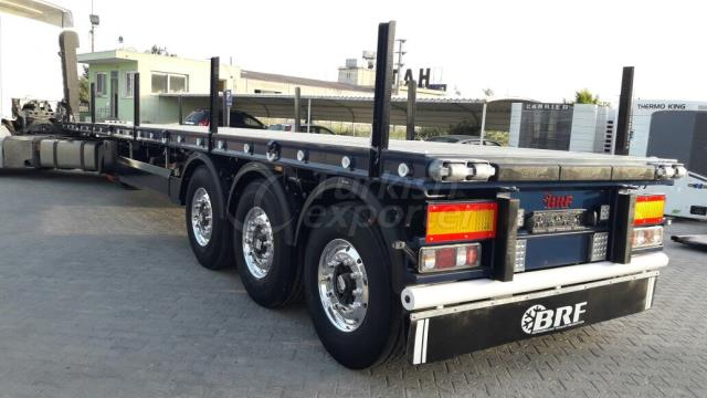 FLATBED CONTAINER CARRIER