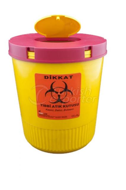 Conteneur de déchets médicaux 2 LT