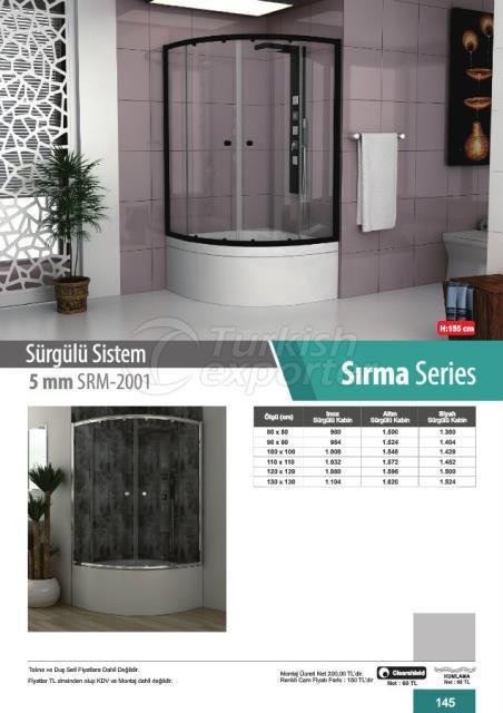 Shower Cabin Sliding Sirma