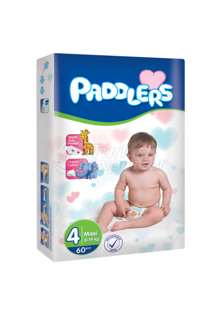 Baby Diapers Paddlers Maxi