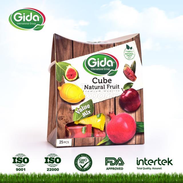 Cube Snack (Mélanger les cubes de fruits)