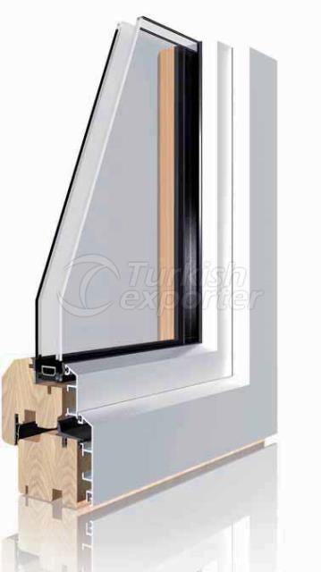 Wood Aluminium Window and Door Sys.