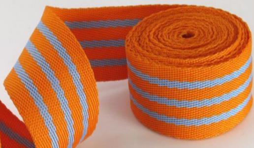 Cotton Stripe Strap Ribbon Tape