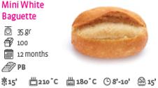 Mini White Baguette