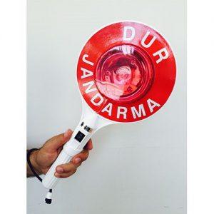 STOP-GO HAND DEVICE