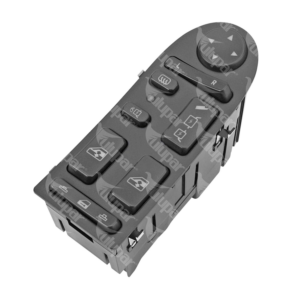 20502876050 - Unité d'interrupteur p. lève-vitre électrique, réglage et chauffage du rétroviseur (L)