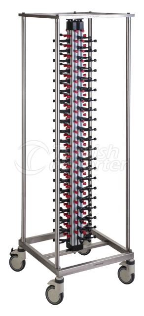 PLATE RACK TROLLEY SPECIAL DESIGN
