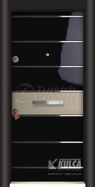 D-2019 (PVC STEEL DOOR )