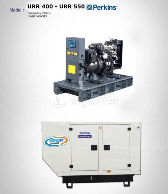 Diesel Generator - URR 400 - URR 550