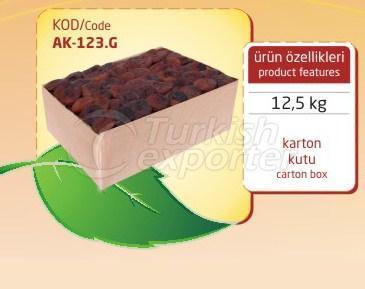 Dried Apricot AK 123G 12.5kg