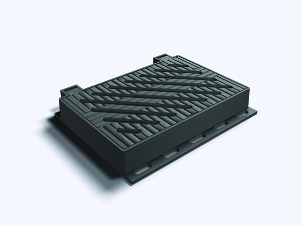 Framed and Hinged Gratings USD-1143