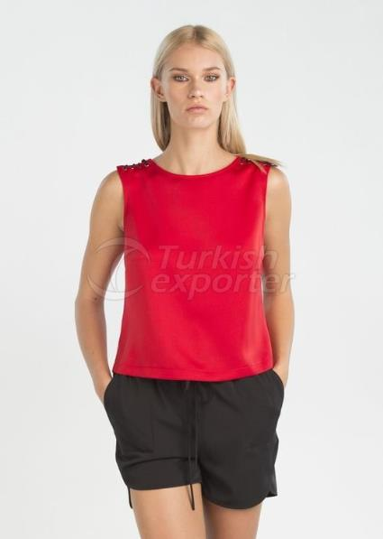 Lena Top - Red