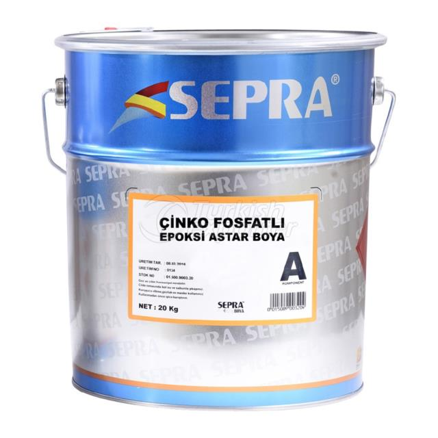 Epoxy Body Coat Paint Zinc Phosphated