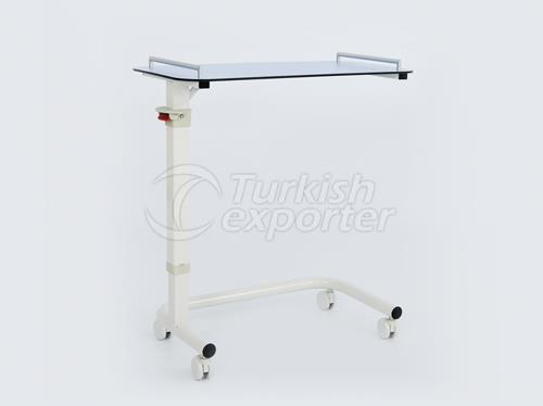 Over Bed Table With Gas Spring