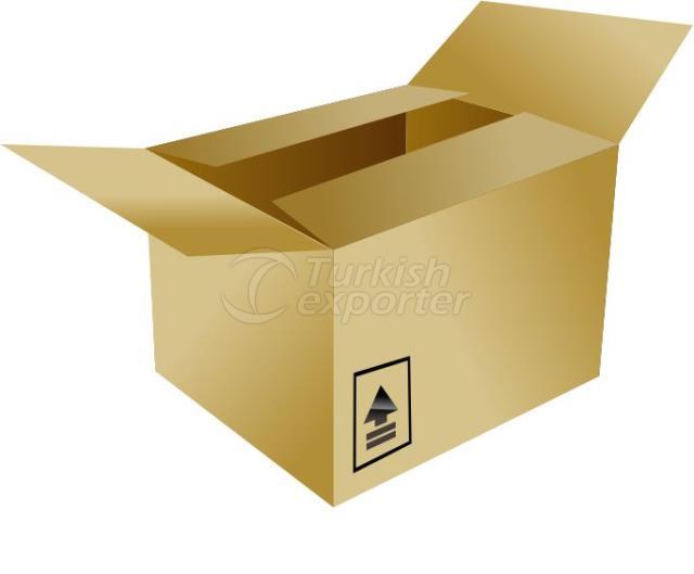 صندوق كارتون قياسي