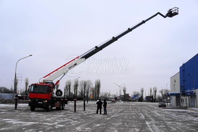 42 m. Telescopic Platform