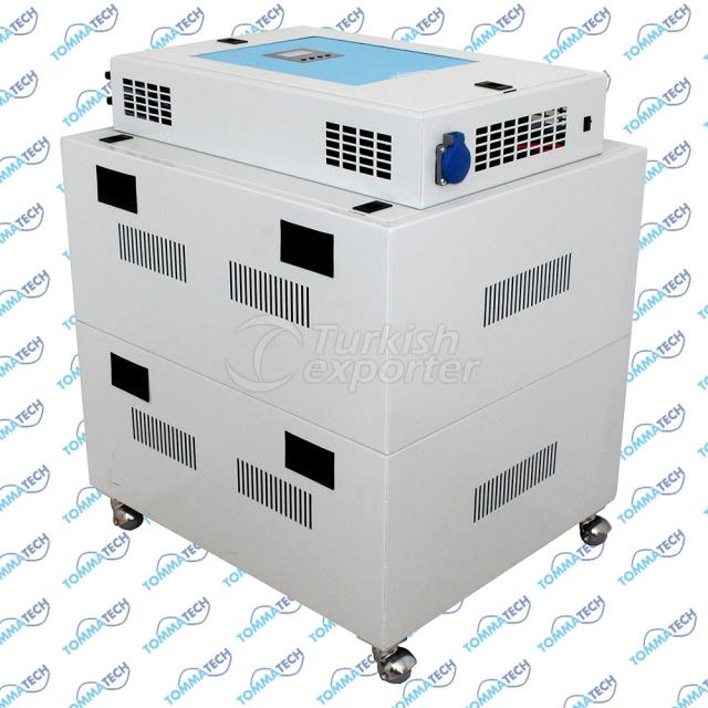 48V 5000W 4P-6P-8P-12P Hybrid Solar Power Box