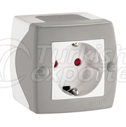 Switches and Socket Outlets - Childprood Socket Outlet Earthed