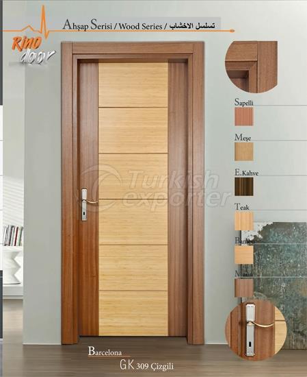 Wooden Door - Stripe