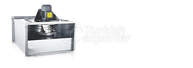 ADKF Rectangular Duct Fan With External Motor