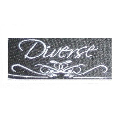 Etiqueta tecida diversificada