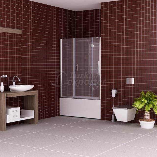 Flat Shower cubicle Mimosa
