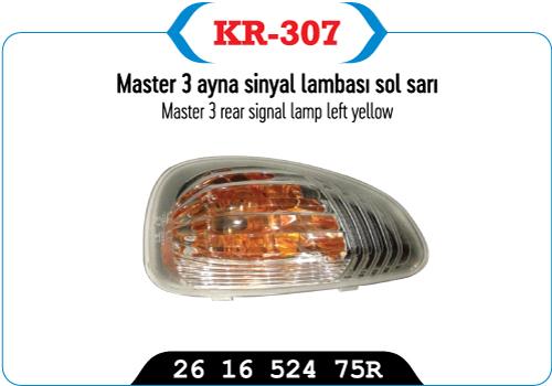 MASTER 3 AYNA SINYAL LAMBASI SOL SARI