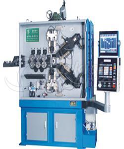 Enrollador de muelle de compresión CNC