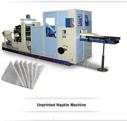 Máquina servilleta sin imprimir