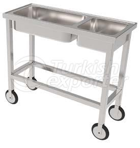 SURGICAL INSTRUMENTS TROLLEY