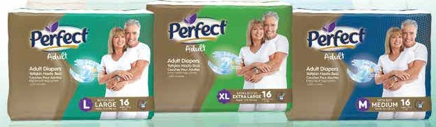 Perfect Adult Diaper (Pack of 30)