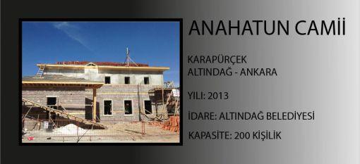 Ana Hatun  Mosque