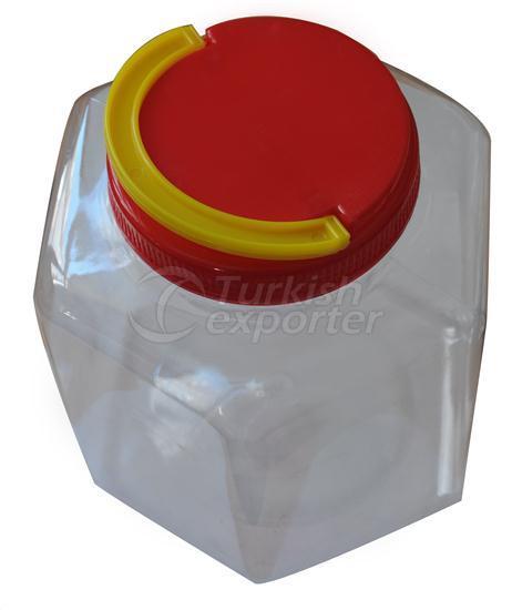 Bocaux en plastique 3000 cc